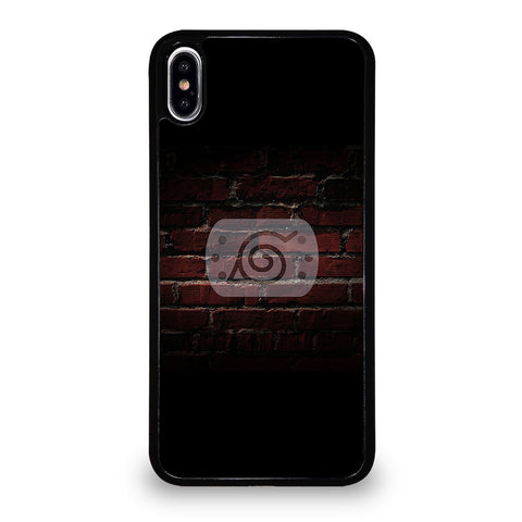 NARUTO KONAHA LOGO iPhone XS Max Case