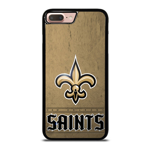 NEW ORLEANS SAINTS LOGO AND BACKGROUND iPhone 7 Plus / 8 Plus Case