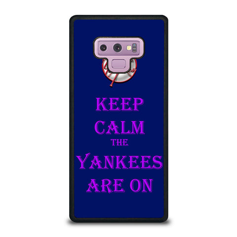 NEW YORK YANKEES ARE ON Samsung Galaxy Note 9 Case