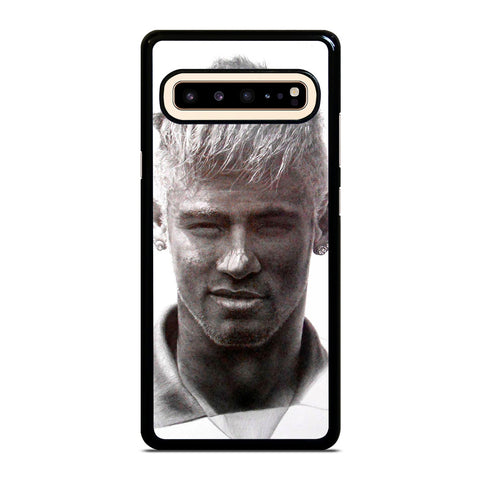 NEYMAR JR MONOCHROME FACE Samsung Galaxy S10 5G Phone Case