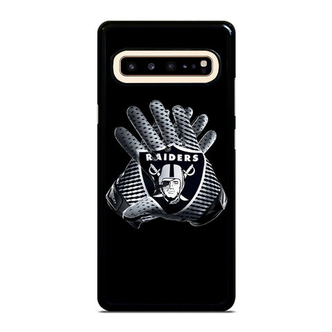 OAKLAND RIDERS GLOVES Samsung Galaxy S10 5G Phone Case