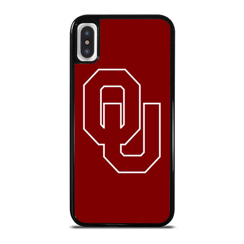 OKLAHOMA SOONER LOGO iPhone X / XS Case