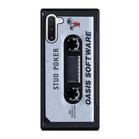 Oasis Cassette Stud Poker Samsung Galaxy Note 10 Case