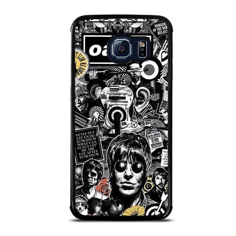Oasis Collage Samsung Galaxy S6 Edge Case