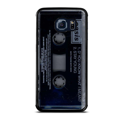 Oasis Stay Young Cassette Samsung Galaxy S6 Edge Case