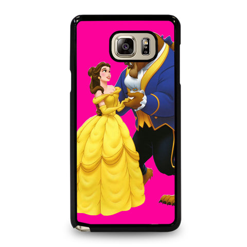 PINKY BEAUTY AND THE BEAST Samsung Galaxy Note 5 Case