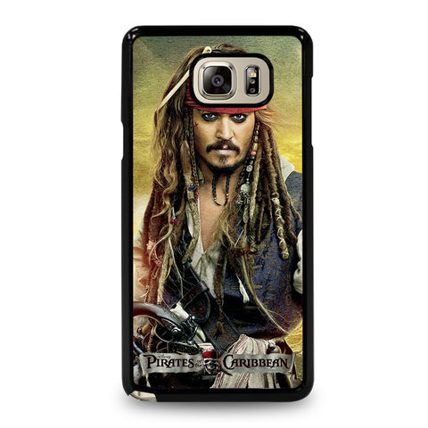 PIRATES OF THE CARIBBEAN JACK SPARROW Samsung Galaxy Note 5 Case