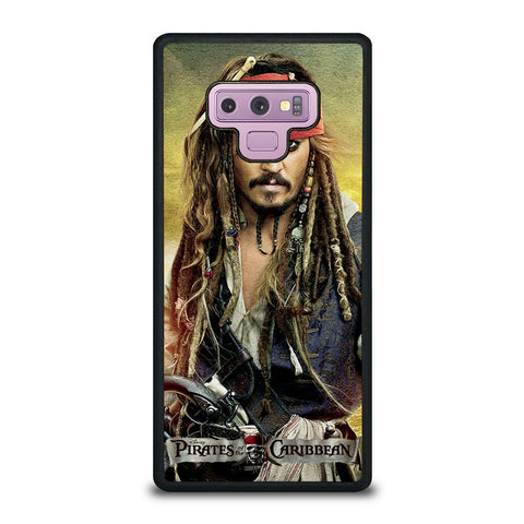 PIRATES OF THE CARIBBEAN JACK SPARROW Samsung Galaxy Note 9 Case