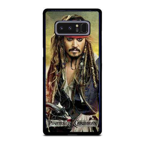 PIRATES OF THE CARIBBEAN JACK SPARROW Samsung Galaxy Note 8 Case