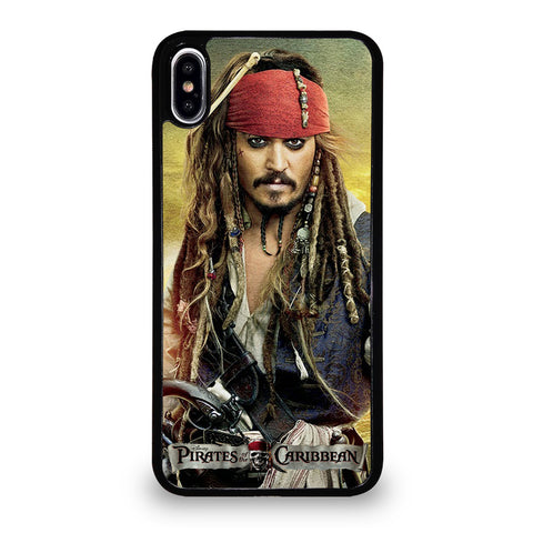 PIRATES OF THE CARIBBEAN JACK SPARROW iPhone XS Max Case
