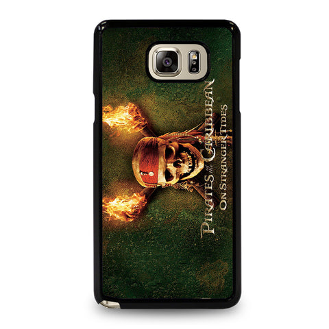 PIRATES OF THE CARIBBEAN ON STRANGER TIDES Samsung Galaxy Note 5 Case