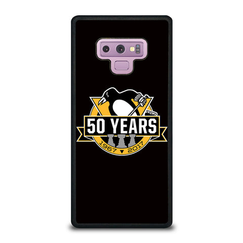 PITTSBURGH PENGUINS 50 YEARS Samsung Galaxy Note 9 Case