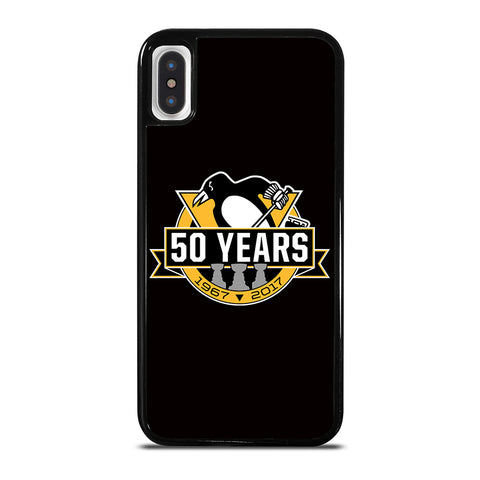 PITTSBURGH PENGUINS 50 YEARS iPhone X / XS Case