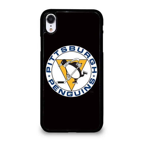 PITTSBURGH PENGUINS LOGO iPhone XR Case