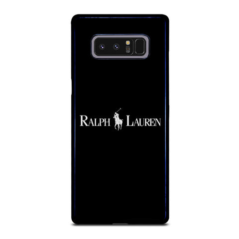 POLO RALPH LAUREN BLACK Samsung Galaxy Note 8 Case
