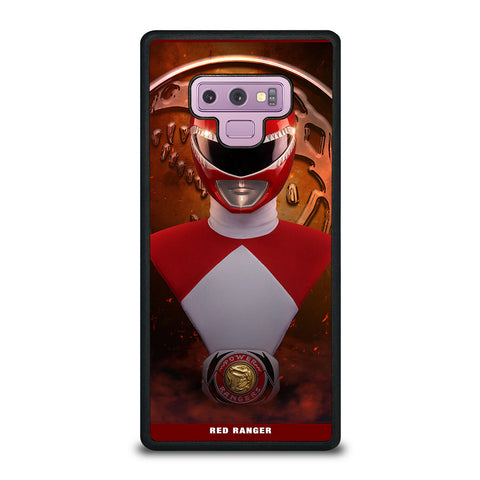 POWER RANGERS MIGHTY MORPHIN Samsung Galaxy Note 9 Case