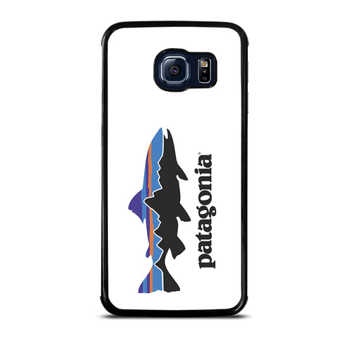 Patagonia Finishing White Logo Samsung Galaxy S6 Edge Case
