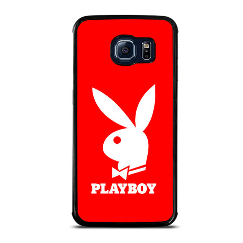 Playboy Logo In Red Samsung Galaxy S6 Edge Case