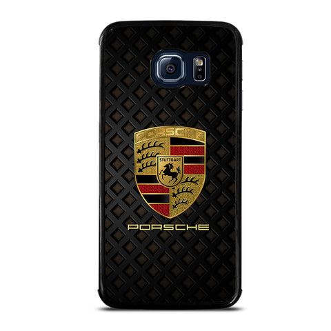 Porsche Cool Logo Samsung Galaxy S6 Edge Case