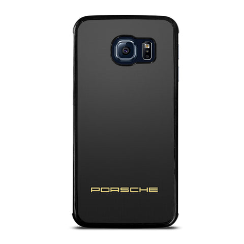 Porsche On Bottom Samsung Galaxy S6 Edge Case