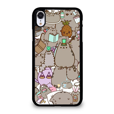 Pusheen Cartoon Collage iPhone XR Case