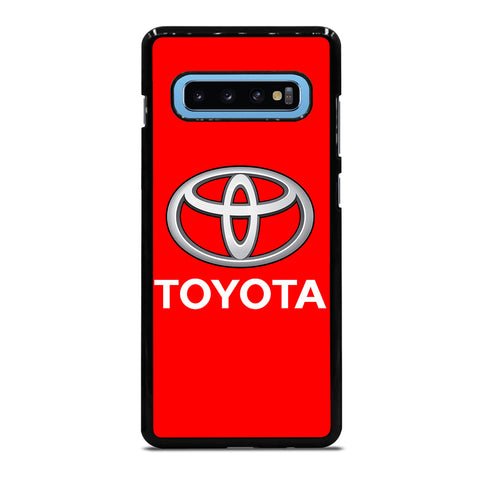 RED TOYOTA LOGO Samsung Galaxy S10 Plus Case