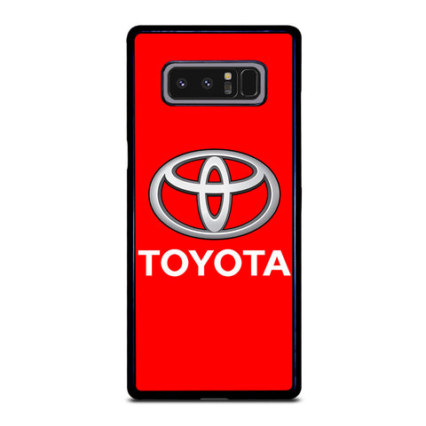 RED TOYOTA LOGO Samsung Galaxy Note 8 Case