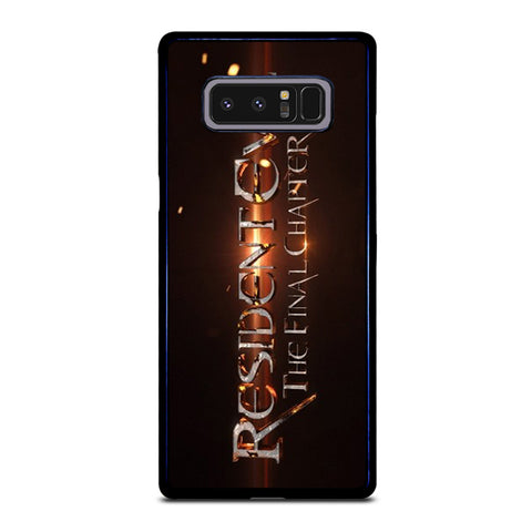 RESIDENT EVIL FINAL CHAPTER Samsung Galaxy Note 8 Case
