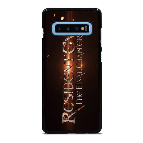 RESIDENT EVIL FINAL CHAPTER Samsung Galaxy S10 Plus Case