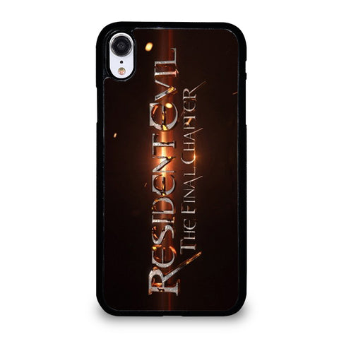 RESIDENT EVIL FINAL CHAPTER iPhone XR Case