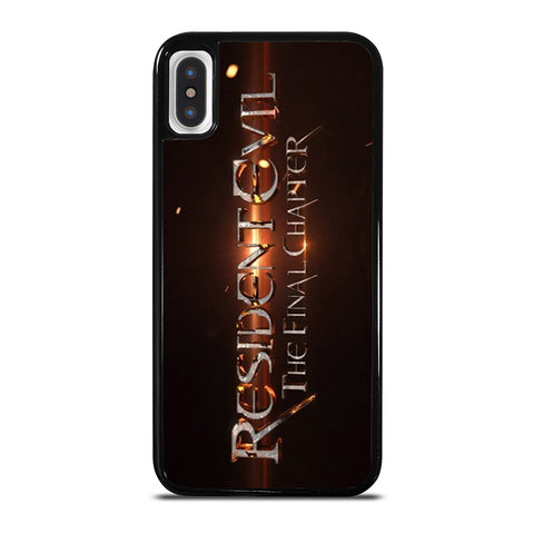 RESIDENT EVIL FINAL CHAPTER iPhone X / XS Case