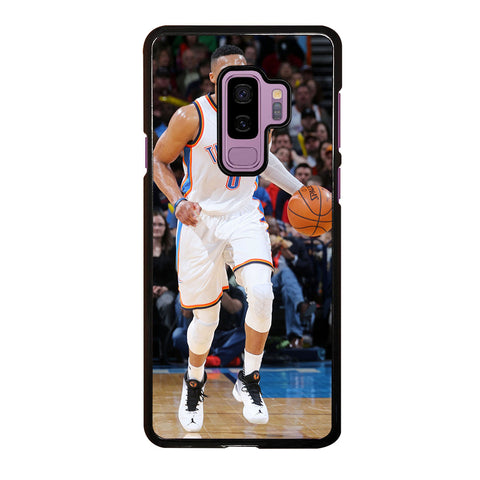 RUSSELL WESTBROOK DRIBLE Samsung Galaxy S9 Plus Case