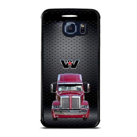 Red Western Star Truck Samsung Galaxy S6 Edge Case
