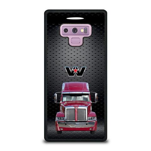 Red Western Star Truck Samsung Galaxy Note 9 Case