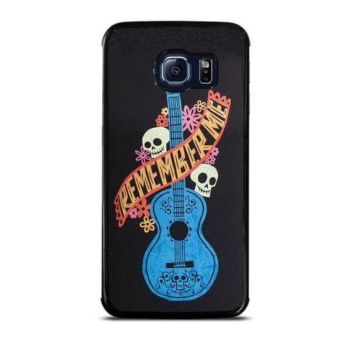 Remember Me Coco Guitar Samsung Galaxy S6 Edge Case