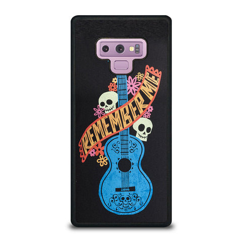 Remember Me Coco Guitar Samsung Galaxy Note 9 Case