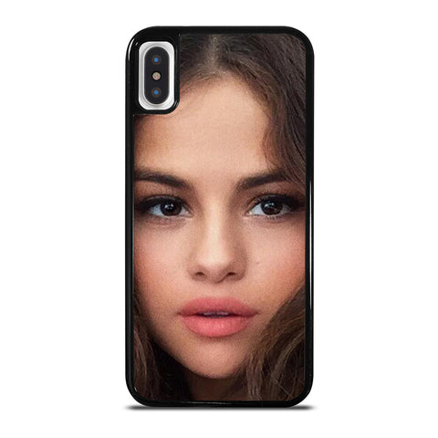 SELENA GOMEZ FACE iPhone X / XS Case