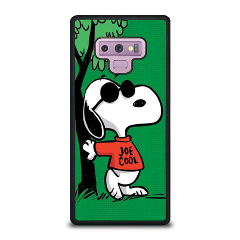 SNOOPY JOE COOL Samsung Galaxy Note 9 Case