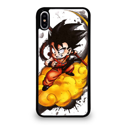 SON GOKU CHILD WITH THE CLOUD iPhone XS Max Case