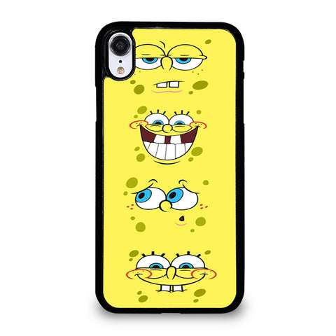 SPONGEBOB EXPRESSIONS iPhone XR Case