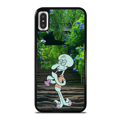 SPONGEBOB FRIEND SQUIDWARD iPhone X / XS Case