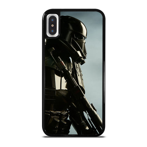 STAR WARS ROUGE1 DEATH TROOPER iPhone X / XS Case