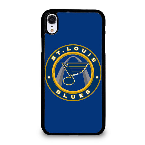 ST LOUIS BLUES EMBLEM iPhone XR Case