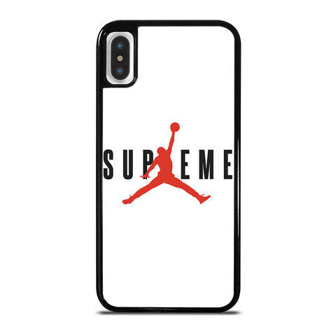 SUPREME AIR JORDAN iPhone X / XS Case