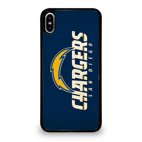 San Diego Chargers Landscape Logo iPhone XS Max Case