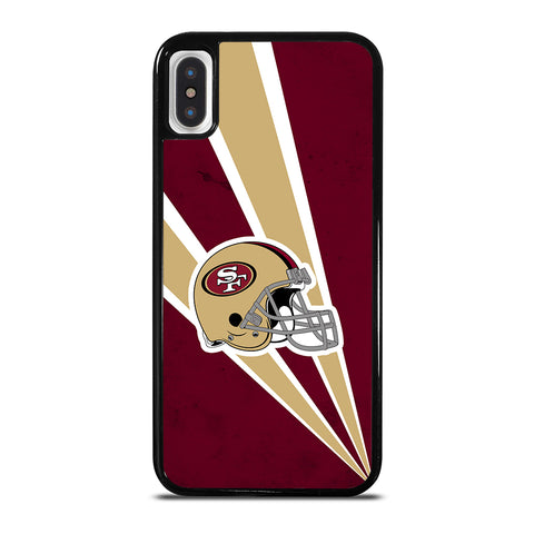 San Francisco 49ers NFL Helmet iPhone X / XS Case