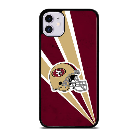 San Francisco 49ers NFL Helmet iPhone 11 Case