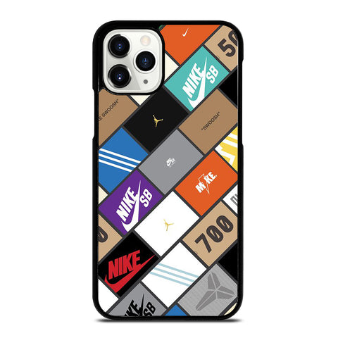 Sneaker Boxes Poster iPhone 11 Pro Case