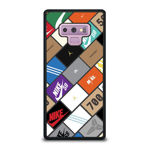 Sneaker Boxes Poster Samsung Galaxy Note 9 Case