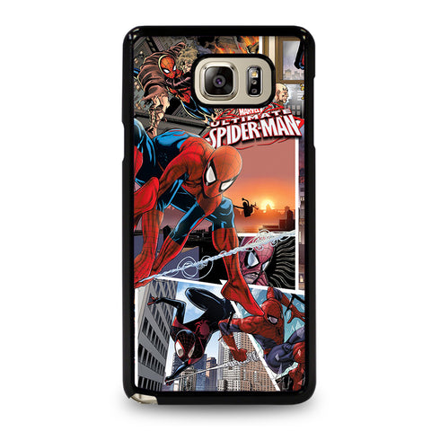 Spiderman Comic Samsung Galaxy Note 5 Case